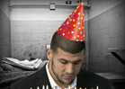 Aaron Hernandez -- WORST BIRTHDAY EVER