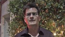 Charlie Sheen -- Drops 10K In Epilepsy Fight