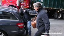 Alec Baldwin -- SHOVES PHOTOG ... Smacks Camera