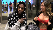 Pro Skater Keelan Dadd -- GF Lingerie FLASHING at LAX ... UNLEASH THE DRAGON