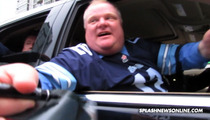 Crack Mayor Rob Ford -- I Saw the 'SNL' Skit About Me ... IT WAS CRAZY, MAN!