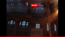 George Watsky --  INSANE VIDEO!! Rapper Survives 35-Foot High Leap into Crowd