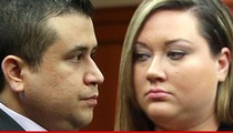 George Zimmerman -- Slapped With Divorce Papers -- You've Been Served, Jailbird!