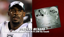 Donovan McNabb -- I'M NO INCOGNITO ... QB Denies Starting Gay Rumors About Teammate