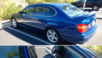 Leo DiCaprio's Lexus For Sale On eBay ... It's Where Gisele Sat!