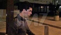 Darwin Vela and Girlfriend Leave Jail -- Mum On Charlie Sheen Sex Tape