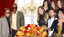 Kardashians to Lamar Odom, Bruce Jenner:  Come To Our House on Thanksgiving!