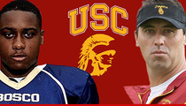 USC Football Recruit -- I Like Steve Sarkisian ... I'm STAYING COMMITTED to SC