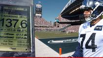 Seattle Seahawks Lineman: Team Watched Noise Meter From Sidelines