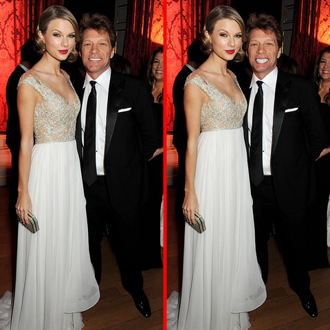 Can you spot the THREE differences in the Taylor Swift and Bon Jovi picture?