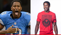 Detroit Lions Nate Burleson -- Lionblood Saved My Football Career