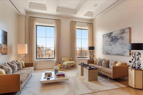 <span>The 3,022 sq. ft. luxury pad is located in the Walker Tower -- known for it's fancy-pants living spaces ... including a penthouse apartment that just sold for $55 MIL.</span>