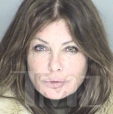 "Kelly LeBrock -- the gorgeous star of ""Weird Science"" -- was busted for DUI."