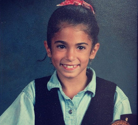 Before this grinning girl was a twi-hard actress she was just another girl smiling for her class photos in Los Angeles, California.