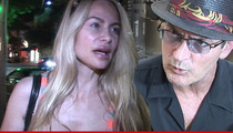 Charlie Sheen Sex Tape -- Victim Tells Cops It's Real and She Can Prove It