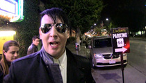 Marilyn Manson -- My Acting Career HAS JUST BEGUN!!!