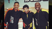 Will Smith and Tyrese -- Indoor Skydiving With Dubai Prince