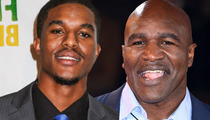 Evander Holyfield's Son -- My Dad Does NOT Hate Gay People