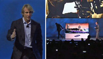 Michael Bay -- Freaks Out Onstage at CES -- Walks Off [Video]