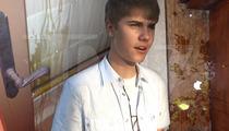 Justin Bieber -- Sheriff's Detectives Gunning For Felony Prosecution in Egging Case