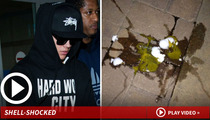 "Justin Bieber -- Egg Attack is Gateway to ""Thug"" Life"