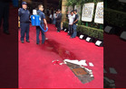Golden Globes -- Poop Water Covers the Red Carpet