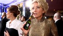 Emma Thompson -- Martinis Get Me Through Golden Globe Awards