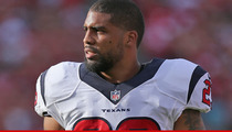 Arian Foster Sued -- He Tried to Force Me Into Abortion ... Woman Claims