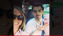 Joe Jonas -- I'm Certifiable ... In an Uber
