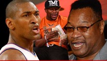 Metta World Peace BLASTS Boxing Legend -- You're 'Bringing Down' Black People!