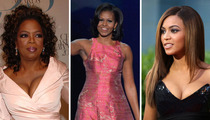 Michelle Obama -- Birthdays Are For Ballin' With Celeb Friends