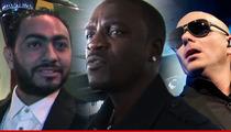 Egyptian Singer Sues Akon For Not Having Pitbull on a Leash