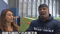 Marshawn Lynch -- Seahawks Treat Skittles Like Medicine