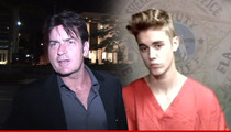 Charlie Sheen to Bieber -- Xanax and Sizzurp Will Kill You ... So Do Coke