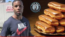 Golden Tate -- Botched Donut Heist Made Him Better ... Says Donut Shop