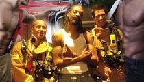 Snoop Dogg -- Where He Smokes, There's Firemen ... in Australian Hotel
