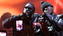 Diddy and Mase Reunion -- 'Mo Money, Less Problems ... Bad Ass Performance