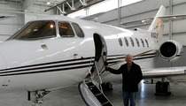 NFL Coach Jimmy Johnson -- I Just Bought My Own PRIVATE JET!!!