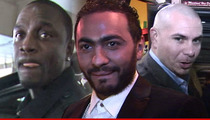 Akon to Egyptian Singer -- Pitbull's My Dawg ... But He's Not My Bitch