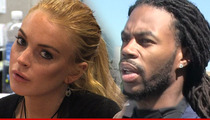Lindsay Lohan -- I Found My $75k Fur -- Thanks To the Seahawks!