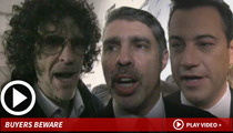 Howard Stern -- Famous Pals Show Up For Birthday Bash Empty Handed