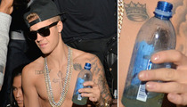 Justin Bieber -- What's In the Water Bottle?
