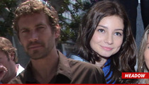 Paul Walker's Baby Mama -- Big Drinking Problems