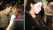 Kate Beckinsale -- Sheriff's Deputies Got Her Back and Front After Dinner