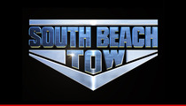 'South Beach Tow' Star -- The Show Is SCRIPTED ... And My Spine's Paying the Price