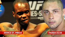 Thiago Silva's Next Opponent -- I'm Pissed We Can't Fight ... 'You Gotta Be F-ing Kidding Me'