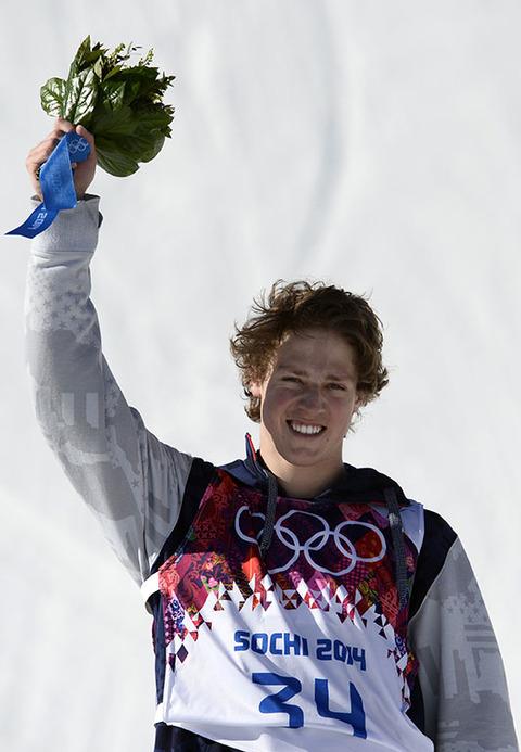 Gold medalist Joss Christensen -- Freestyle Skiing Men's Slopestyle