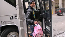 NBA Star Ben McLemore -- PRETTY IN PINK ... Rookie Hazing Casualty!
