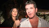 Simon Cowell's Girlfriend -- I'm in Labor ...  Now Get Your Ass to NY