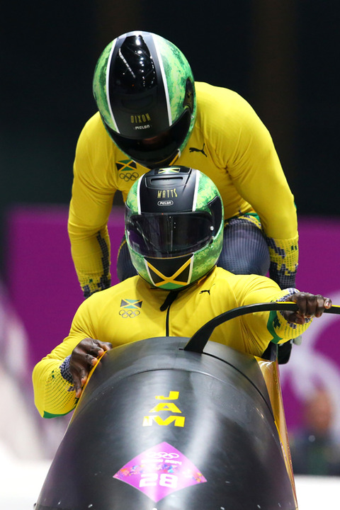 "<span>File This Under: ""Questionable Decision Making"" ... but the </span><span>Jamaican Bobsled Team</span><span> competed over the weekend wearing helmets that looked like watermelons.</span>"